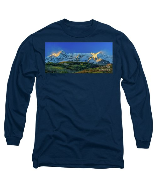 Sunrise On The Dallas Divide Long Sleeve T-Shirt