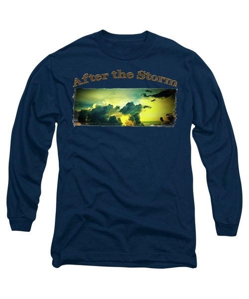 Sunset After The Storm Long Sleeve T-Shirt