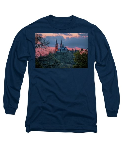 Sunset At Holy Hill Long Sleeve T-Shirt