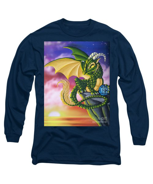 Sunset Dragon Long Sleeve T-Shirt