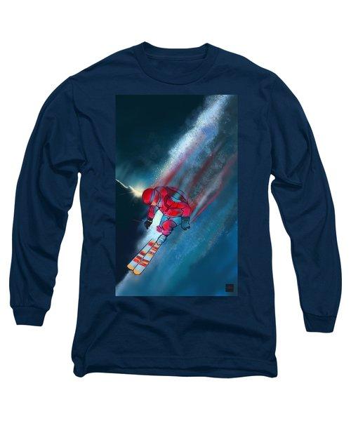 Sunset Extreme Ski Long Sleeve T-Shirt