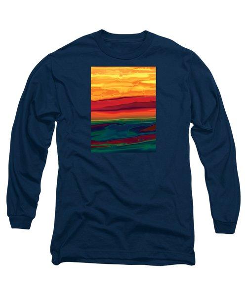 Sunset In Ottawa Valley 1 Long Sleeve T-Shirt by Rabi Khan
