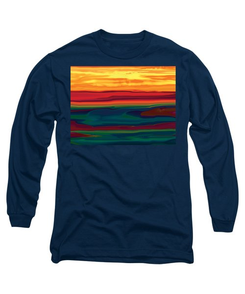 Sunset In Ottawa Valley Long Sleeve T-Shirt