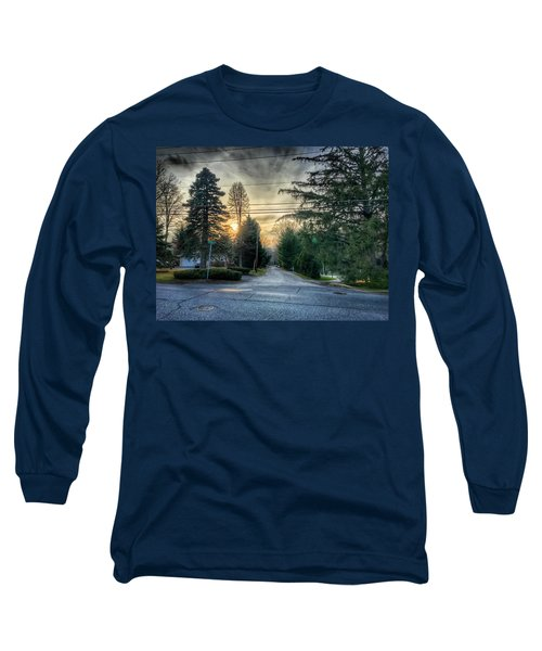 Sunset On Hilltop Drive Long Sleeve T-Shirt