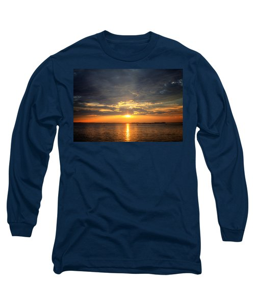 Sunset On Lake Hartwell Long Sleeve T-Shirt