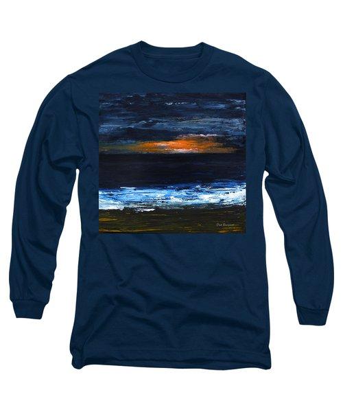 Sunset On The Horizon Long Sleeve T-Shirt