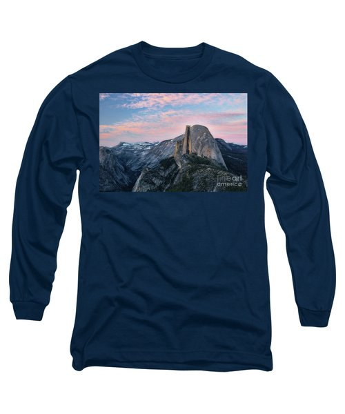 Sunset Over Half Dome Long Sleeve T-Shirt