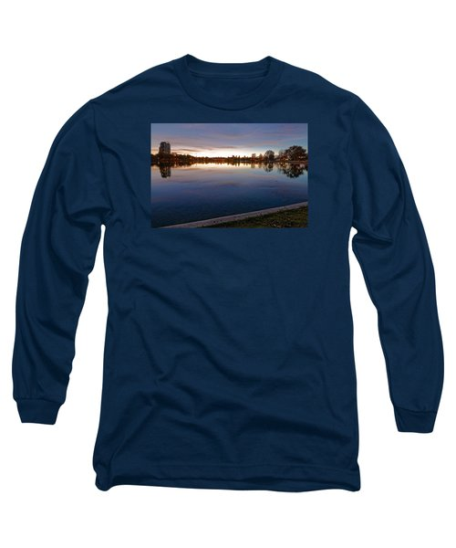 Sunset Pond Long Sleeve T-Shirt