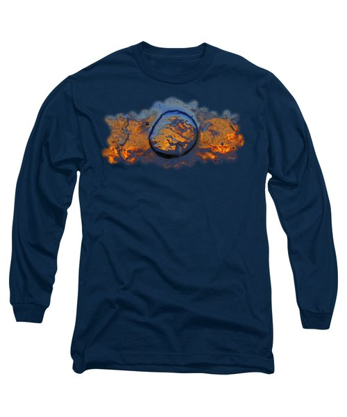 Sunset Rings Long Sleeve T-Shirt by Sami Tiainen