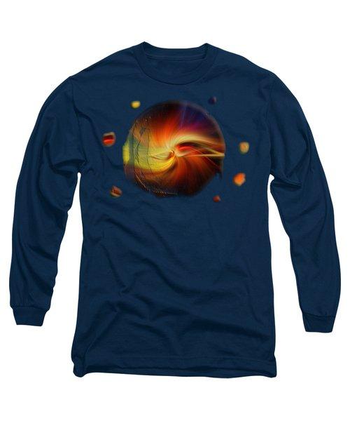 Sunset Swirl No.2 Long Sleeve T-Shirt