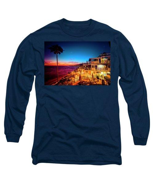 Sunset Twilight At The Laguna Riviera Long Sleeve T-Shirt