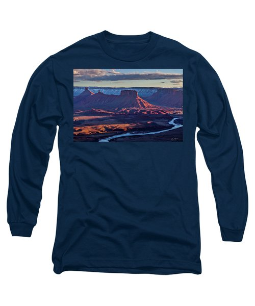 Sunset View From Omg Point Long Sleeve T-Shirt