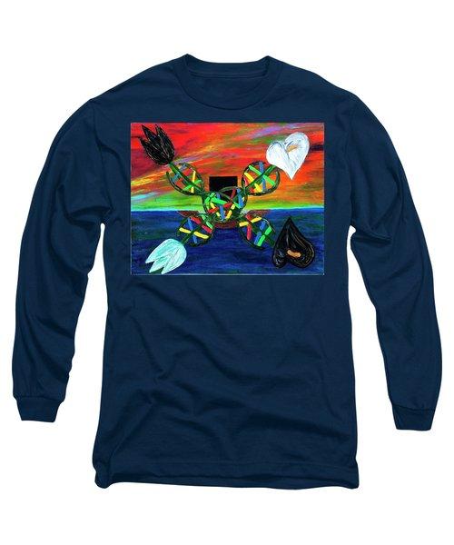 Sunseth In Atlantis Long Sleeve T-Shirt