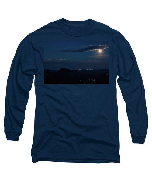 Super Moon Eclipse Long Sleeve T-Shirt