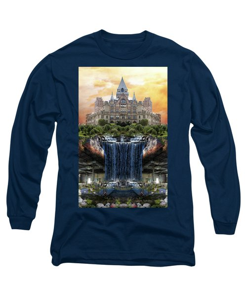 Supported Long Sleeve T-Shirt by Joan Ladendorf
