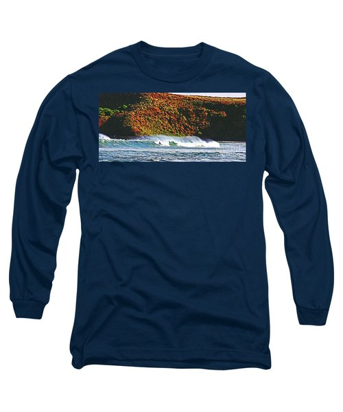 Surfing The Island Long Sleeve T-Shirt