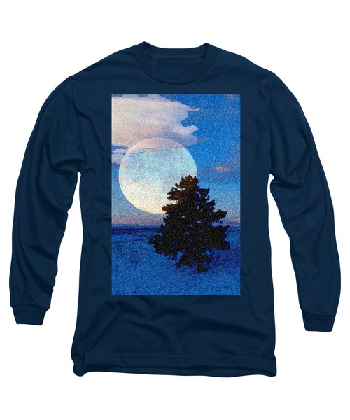 Surreal Winter Long Sleeve T-Shirt by Ruanna Sion Shadd a'Dann'l Yoder