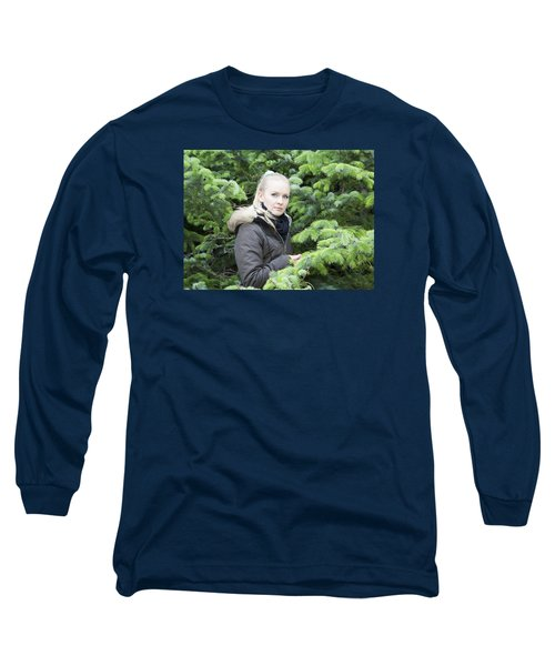 Surrounded By Trees Long Sleeve T-Shirt