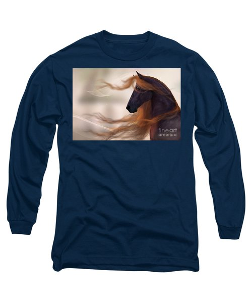 Surveying His Domain Long Sleeve T-Shirt
