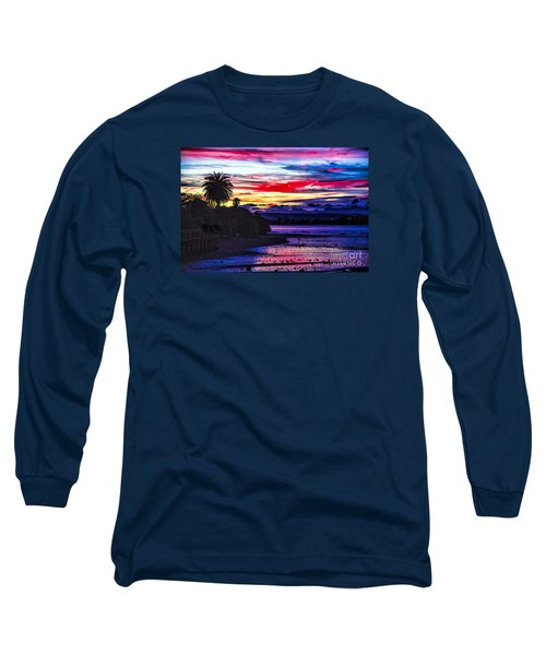 Suset Beach Long Sleeve T-Shirt