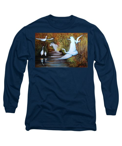 Swamp 1 Long Sleeve T-Shirt