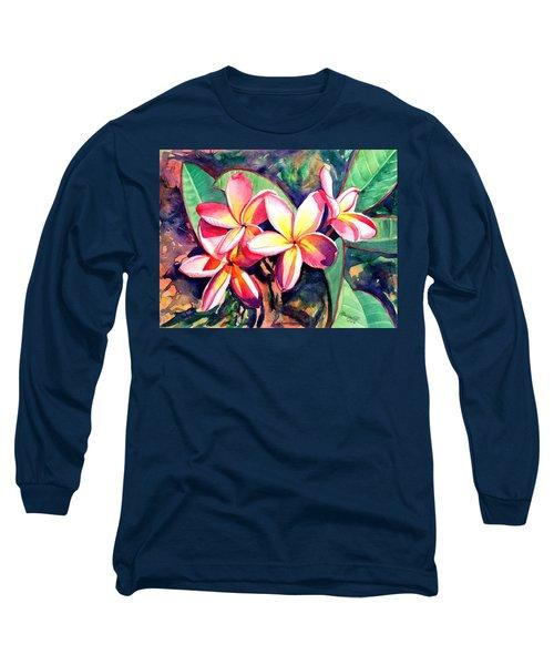 Sweet Plumeria Long Sleeve T-Shirt