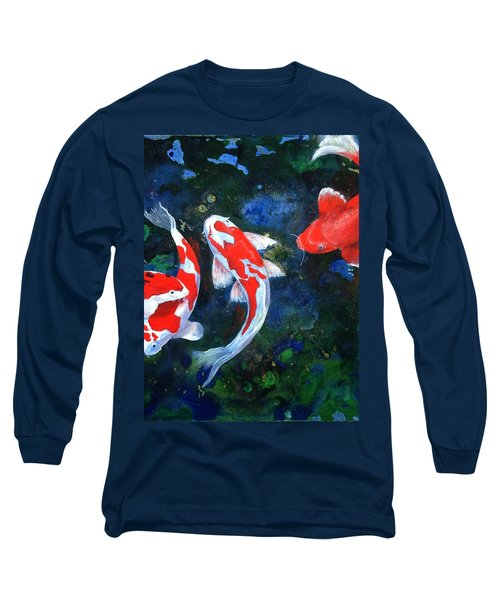 Swimming In Peace Long Sleeve T-Shirt