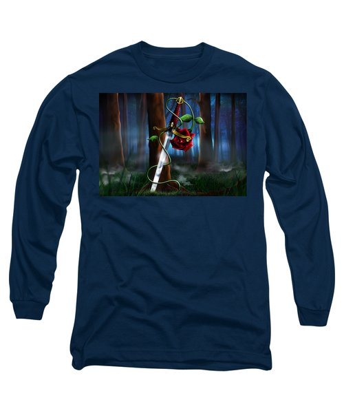 Sword And Rose Long Sleeve T-Shirt