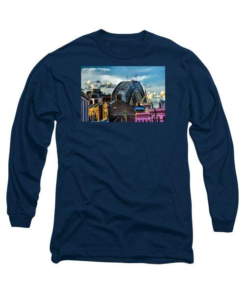 Sydney Harbor Bridge Long Sleeve T-Shirt by Diana Mary Sharpton