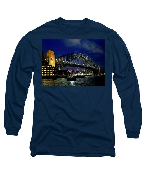 Sydney Harbour Bridge Long Sleeve T-Shirt