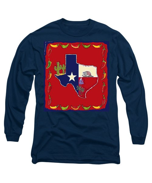 Symbols Of Texas Long Sleeve T-Shirt