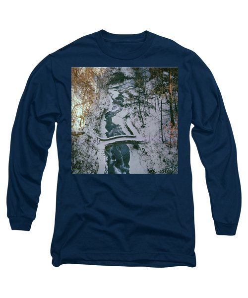 T-31501 Gorge On Cornell University Campus Long Sleeve T-Shirt