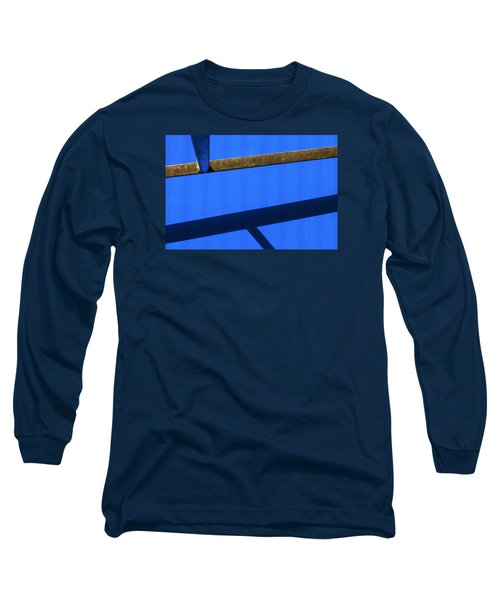Long Sleeve T-Shirt featuring the photograph T Point by Prakash Ghai