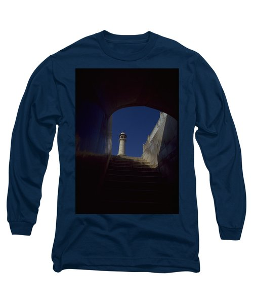 Long Sleeve T-Shirt featuring the photograph Taj Mahal Detail by Travel Pics