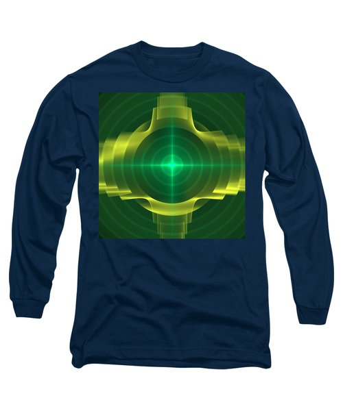 Long Sleeve T-Shirt featuring the digital art Target by Svetlana Nikolova