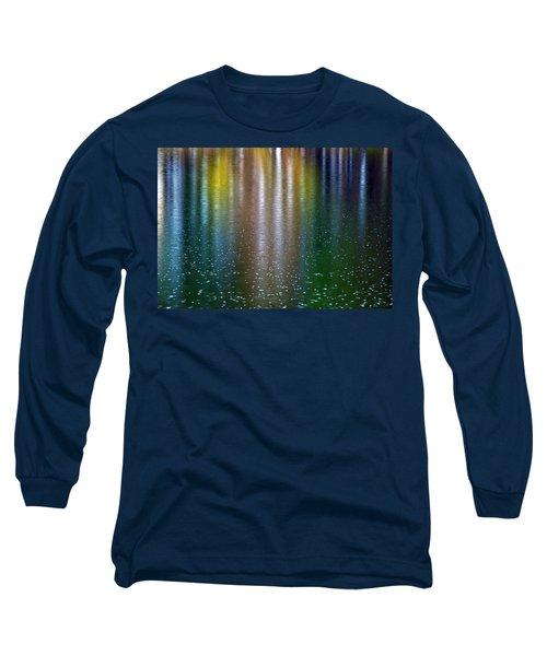 Long Sleeve T-Shirt featuring the photograph Tears On A Rainbow by John Haldane