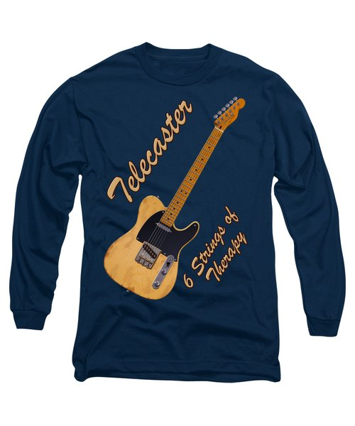 Telecaster Therapy T-shirt Long Sleeve T-Shirt