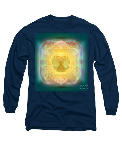 Temple Fire Chalice Long Sleeve T-Shirt