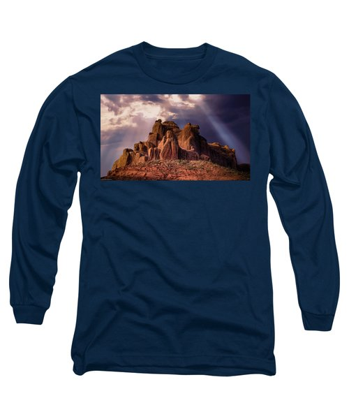 Temple Of Red Stone Long Sleeve T-Shirt