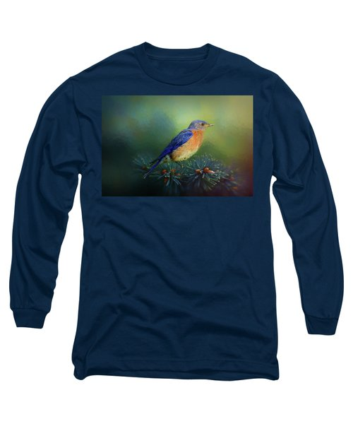Long Sleeve T-Shirt featuring the photograph Territorial Watch by Bellesouth Studio