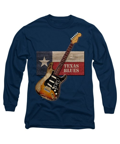 Texas Blues Shirt Long Sleeve T-Shirt