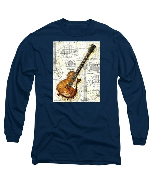 The 1955 Les Paul Custom Long Sleeve T-Shirt by Gary Bodnar