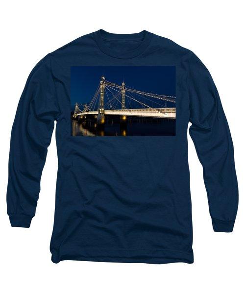 The Albert Bridge London Long Sleeve T-Shirt