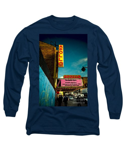 The Apollo Theater Long Sleeve T-Shirt by Ben Lieberman