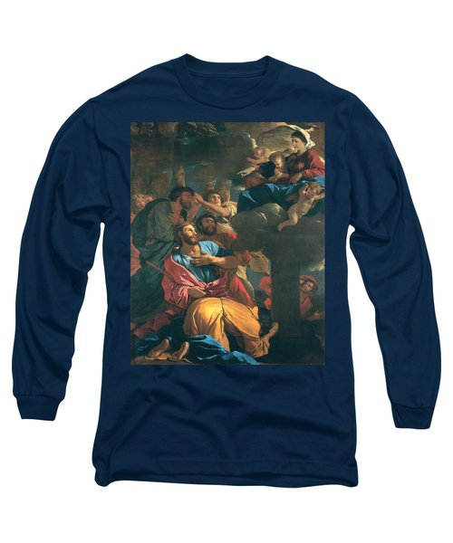 The Apparition Of The Virgin The St James The Great Long Sleeve T-Shirt