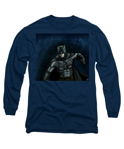 The Batman Long Sleeve T-Shirt by Vinny John Usuriello