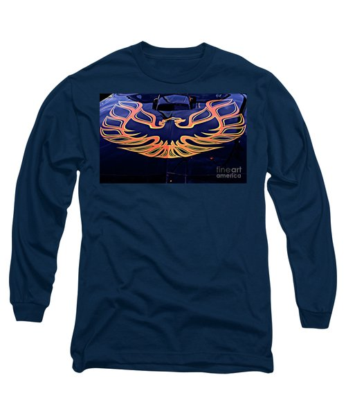Long Sleeve T-Shirt featuring the photograph The Bird - Pontiac Trans Am by Jane Eleanor Nicholas