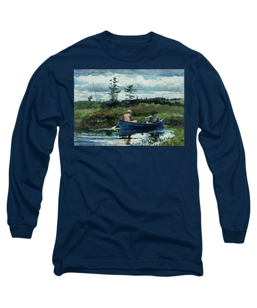 The Blue Boat Long Sleeve T-Shirt