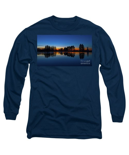 Long Sleeve T-Shirt featuring the photograph The Blue Hour.. by Nina Stavlund