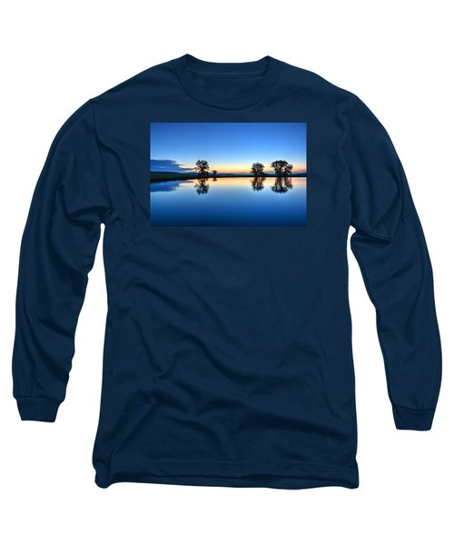 The Blues Long Sleeve T-Shirt by Fiskr Larsen